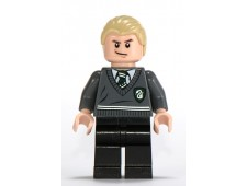 Draco Malfoy, Slytherin Stripe and Shield Torso, Black Legs - hp115