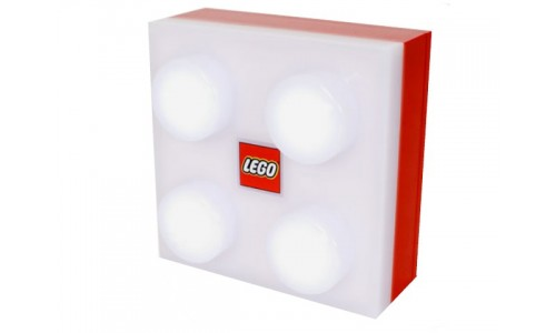 Лампа-ночник красного цвета lamp2 Лего Аксессуары (Lego Accessories)