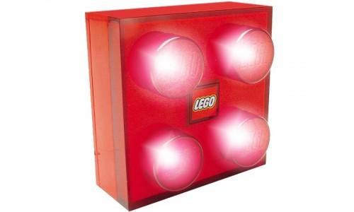 Светильник настенный (красный) lamp4 Лего Аксессуары (Lego Accessories)