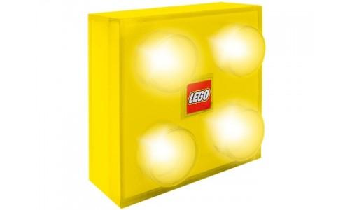 Светильник настенный (жёлтый) lamp5 Лего Аксессуары (Lego Accessories)