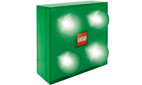 Светильник настенный (зелёный) lamp6 Лего Аксессуары (Lego Accessories)