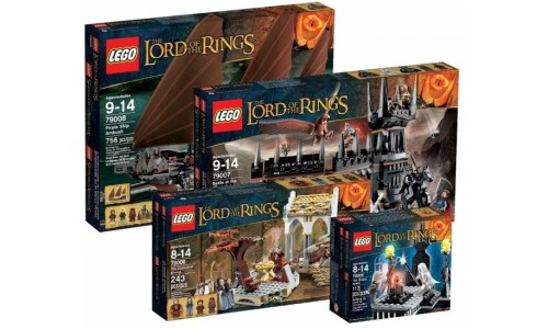Коллекция Властелин Колец 2013 lotr-2013-pack Лего Властелин Колец (Lego  Lord of the Rings)