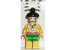 Islander, King, with Black Hair-Piece - pi069