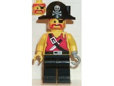 Pirate Shirt with Knife, Black Legs, Black Pirate Hat with Skull - pi078