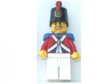 Imperial Soldier II - Shako Hat Decorated, Brown Beard - pi098