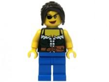Pirate Female, Blue Legs - pi101