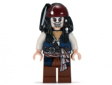 Captain Jack Sparrow Skeleton - poc012