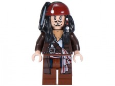 Captain Jack Sparrow with Jacket - poc034