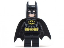 Batman - Black Suit with Yellow Belt and Crest (Type 1 Cowl) - sh016