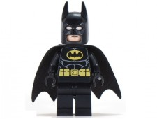 Batman - Black Suit with Yellow Belt and Crest (Type 2 Cowl) - sh016a