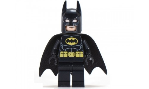 Batman - Black Suit with Yellow Belt and Crest (Type 2 Cowl) sh016a