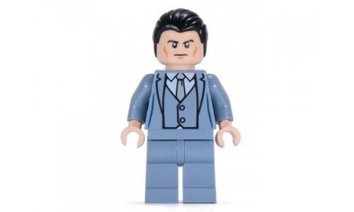 Bruce Wayne - Sand Blue Suit sh026