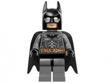 Batman, Dark Bluish Gray Suit with Copper Belt - sh064