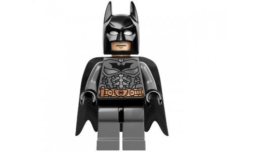Batman, Dark Bluish Gray Suit with Copper Belt sh064