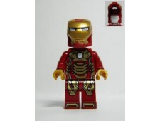 Iron Man Mark 42 Armor (Plain White Head) - sh072