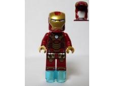 Iron Man Mark 42 Armor (Plain White Head) - sh072a