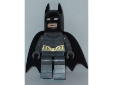 Batman - Dark Bluish Gray Suit, Gold Belt, Dark Bluish Gray Hands - sh089