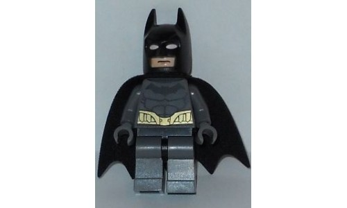 Batman - Dark Bluish Gray Suit, Gold Belt, Dark Bluish Gray Hands sh089