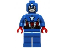 Captain America - Blue Suit, Brown Belt - sh106