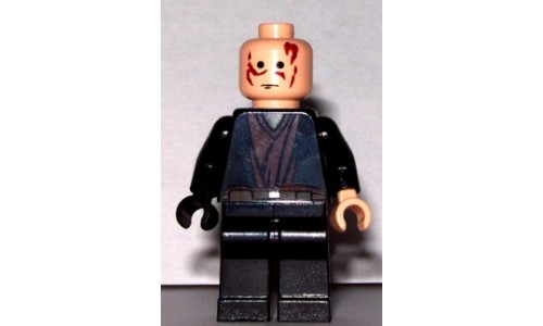 Anakin Skywalker with Black Right Hand (without Hair) sw139
