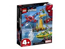 Конструктор LEGO Super Heroes Человек-паук: Похищение бриллиантов Доктором Осьминогом - 76134