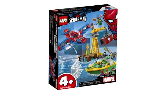Конструктор LEGO Super Heroes Человек-паук: Похищение бриллиантов Доктором Осьминогом