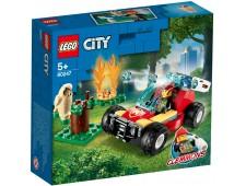 Конструктор LEGO City лесные пожарные - 60247