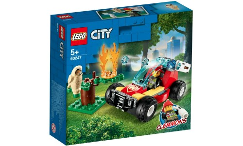 Конструктор LEGO City лесные пожарные