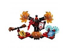 Конструктор LEGO Nexo Knights 70338 Генерал Магмар - Абсолютная сила - 70338