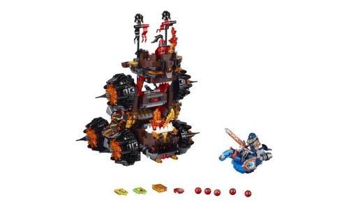 Конструктор Lego Nexo Knights Роковое наступление Генерала Магмара