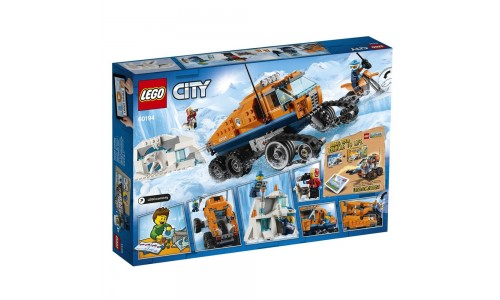 Конструктор LEGO City Арктическая экспедиция Грузовикледовой разведки
