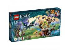 Конструктор LEGO Elves Нападение летучих мышей на Дерево эльфийских звёзд - 41196