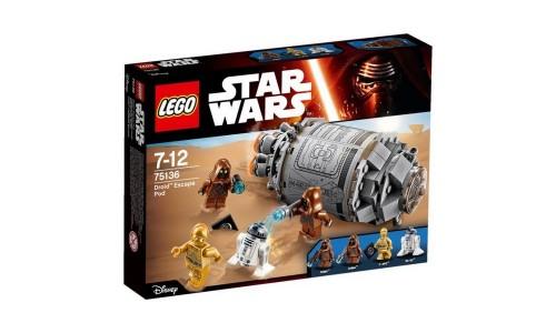 Уценка. LEGO Star Wars 75136 Спасательная капсула дроидов
