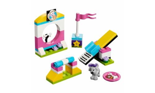 Конструктор LEGO Friends 41303 Выставка щенков: Игровая площадка