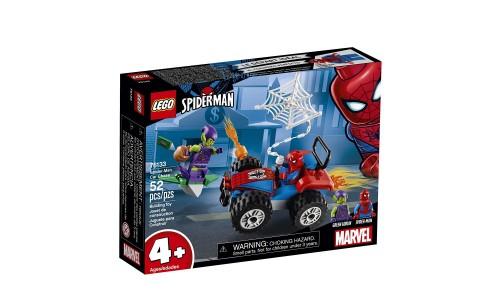 Конструктор LEGO Super Heroes Автомобильная погоня Человека-паука