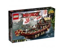 Конструктор LEGO Ninjago 70618 Летающий корабль Мастера Ву - 70618