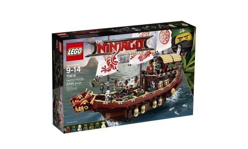 Конструктор LEGO Ninjago 70618 Летающий корабль Мастера Ву