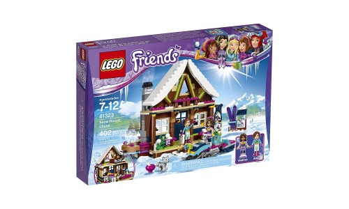 Конструктор LEGO Friends 41323 Горнолыжный курорт: шале