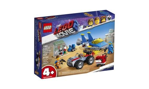 Конструктор LEGO Movie 2: Мастерская «Строим и чиним» Эммета и Бенни!