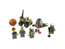 Конструктор LEGO City 60120 Исследователи Вулканов - 60120