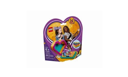 Конструктор LEGO Friends Шкатулка-сердечко Андреа