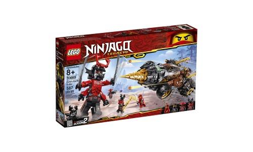 Конструктор LEGO Ninjago «Земляной бур Коула»