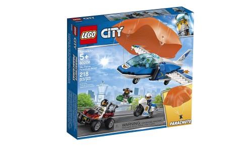 Конструктор LEGO City Воздушная полиция: арест парашютиста